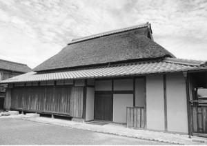 滋賀県愛知郡愛荘町にある西澤眞藏の生家